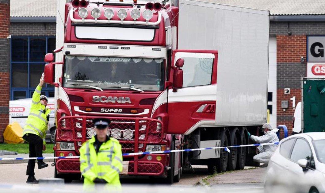 Τραγωδία στο Έσσεξ: Τα 39 πτώματα των Κινέζων έμειναν για τουλάχιστον 10 ώρες μέσα στο παγωμένο φορτηγό!  - Έρευνες για μαφία δουλεμπόρων - Κυρίως Φωτογραφία - Gallery - Video