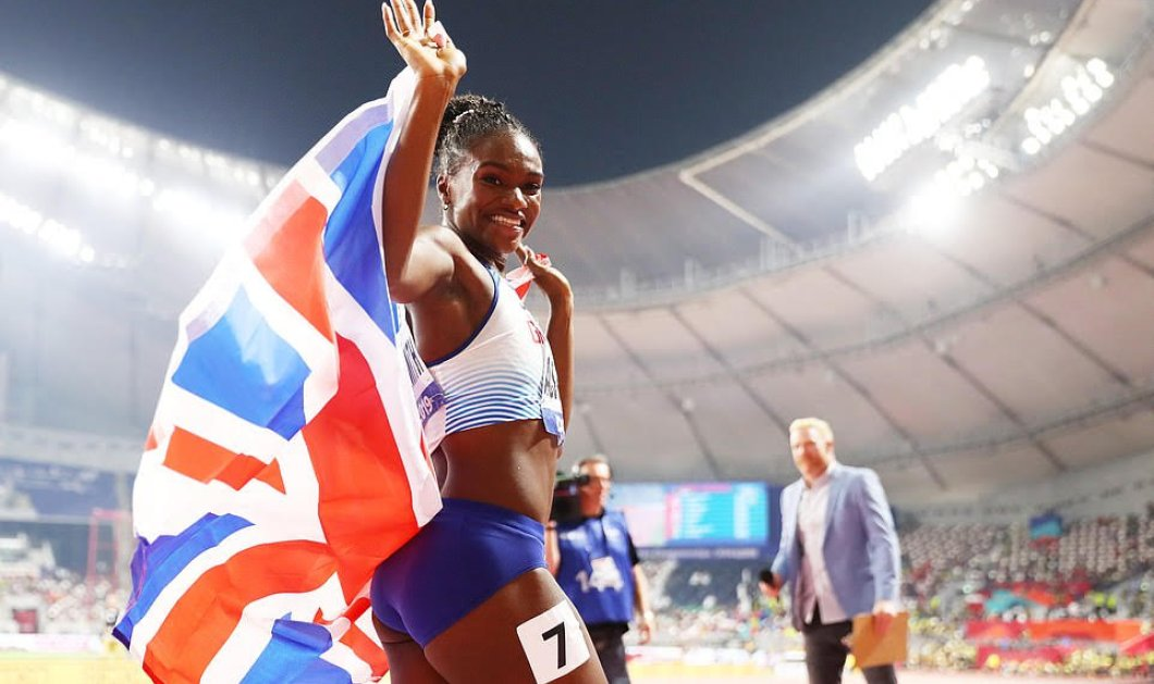 Topwoman η 23χρονη Βρετανίδα Dina-Smith - Παγκόσμια χρυσή πρωταθλήτρια στα 200! Το κίνητρο της, θα σας εκπλήξει (φωτό & βίντεο) - Κυρίως Φωτογραφία - Gallery - Video