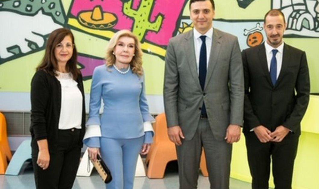 Την Ογκολογική Μονάδα Παίδων «Μαριάννα Β. Βαρδινογιάννη – ΕΛΠΙΔΑ» επισκέφθηκε ο Υπουργός Υγείας, Βασίλης Κικίλιας (φωτό) - Κυρίως Φωτογραφία - Gallery - Video