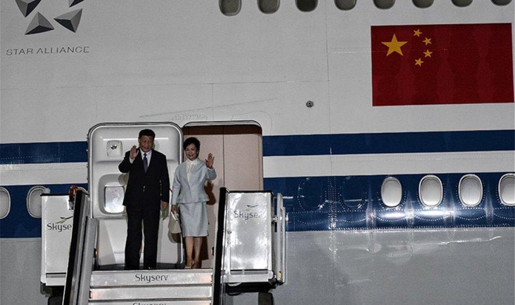 """Σι Τζινπίνγκ: Στην Αθήνα ο Κινέζος Πρόεδρος-  """"Θα ανοίξουμε ένα νέο κεφάλαιο στη σχέση Ελλάδας-Κίνας"""" (φώτο-βίντεο) - Κυρίως Φωτογραφία - Gallery - Video"""