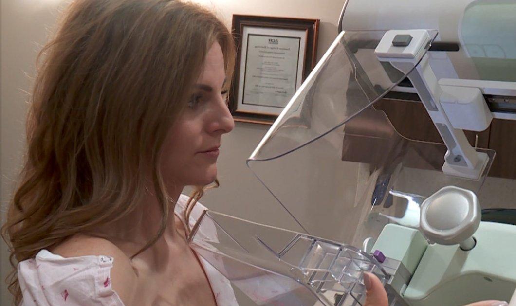 """Δημοσιογράφος 41 ετών έκανε ¨""""live"""" μαστογραφία όταν διαπίστωσαν καρκίνο - """"Σα να μπήκε βράχος στην καρδιά μου"""" (φώτο-βίντεο) - Κυρίως Φωτογραφία - Gallery - Video"""