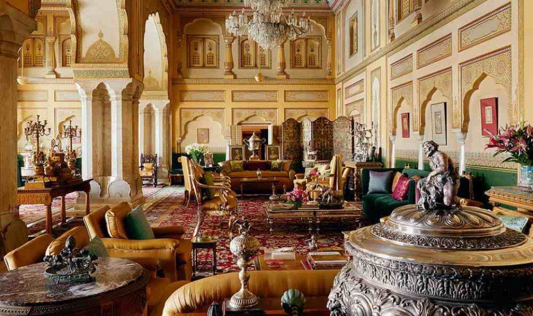Ε, ναι! Τώρα μπορούμε να μείνουμε στο παλάτι που φιλοξενήθηκε η Τζάκι Κένεντι & να ζήσουμε σαν Μαχαραγιάδες - Η βασιλική οικογένεια της Ινδίας συνεργάστηκε με την Airbnb (φώτο) - Κυρίως Φωτογραφία - Gallery - Video