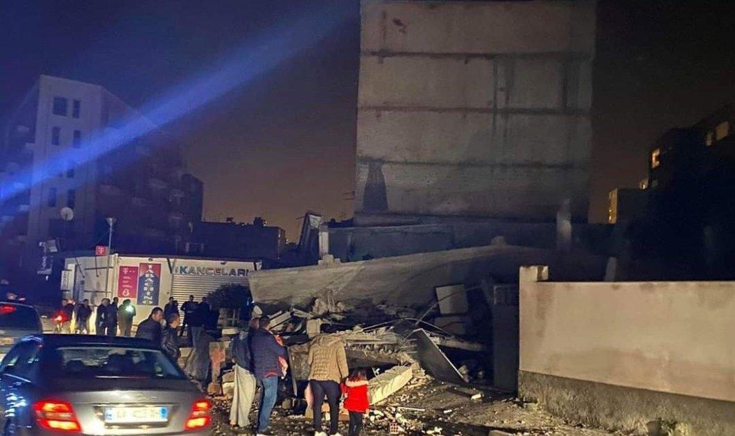 Σεισμός 6.4 Ρίχτερ στην Αλβανία : Τουλάχιστον 6 νεκροί - Εκατοντάδες τραυματίες - Άνθρωποι θαμμένοι κάτω από τα ερείπια (φώτο-βίντεο) - Κυρίως Φωτογραφία - Gallery - Video