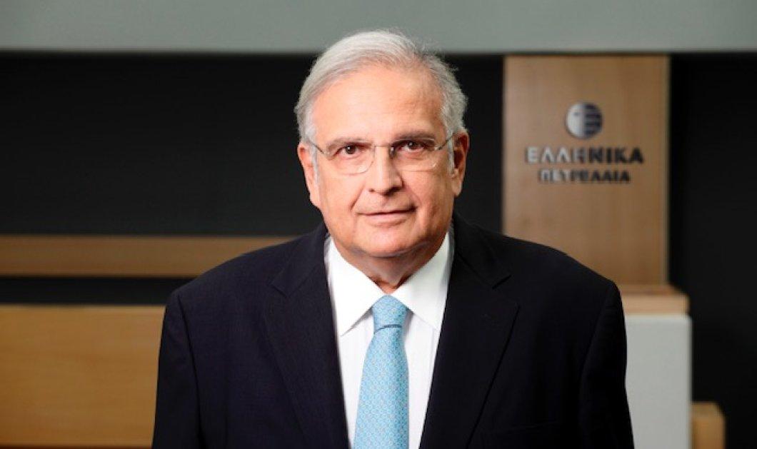 """Γιάννης Παπαθανασίου - Πρόεδρος ΕΛΠΕ: """"Ο όμιλος υλοποιεί με επιτυχία μετάβαση στο νέο αναπτυξιακό μοντέλο"""" - Κυρίως Φωτογραφία - Gallery - Video"""