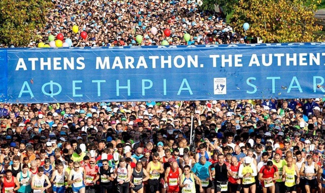 LIVE: 37ος Αυθεντικός Μαραθώνιος: Η μεγάλη γιορτή του αθλητισμού σήμερα στην Αθήνα - 20.000 αθλητές στους δρόμους (βίντεο) - Κυρίως Φωτογραφία - Gallery - Video