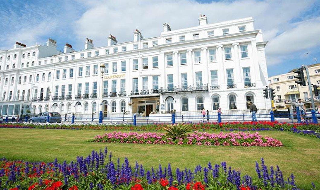 """Βρετανία: Μεγάλη πυρκαγιά στο ιστορικό ξενοδοχείο """"Claremont"""" - Σοκάρουν οι εικόνες που δείχνουν τις φλόγες να βγαίνουν από τα παράθυρα (φώτο-βίντεο) - Κυρίως Φωτογραφία - Gallery - Video"""