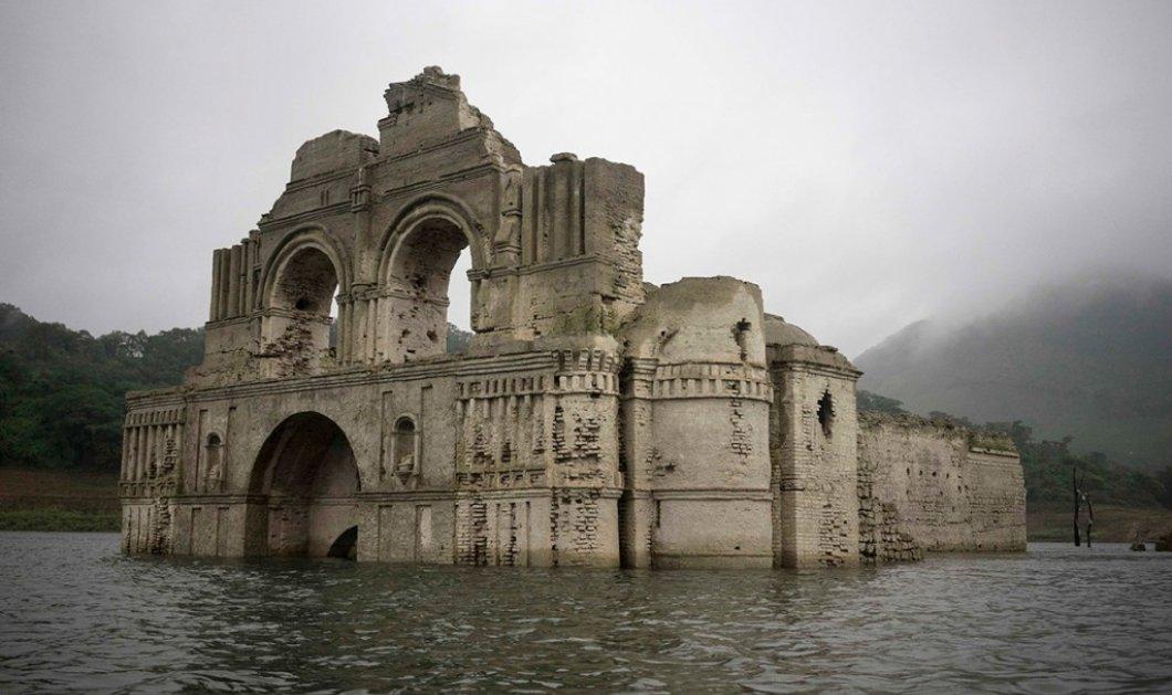 Ναός φάντασμα 400 ετών! Που βρίσκεται& πότεθααναδυθεί  - Κυρίως Φωτογραφία - Gallery - Video