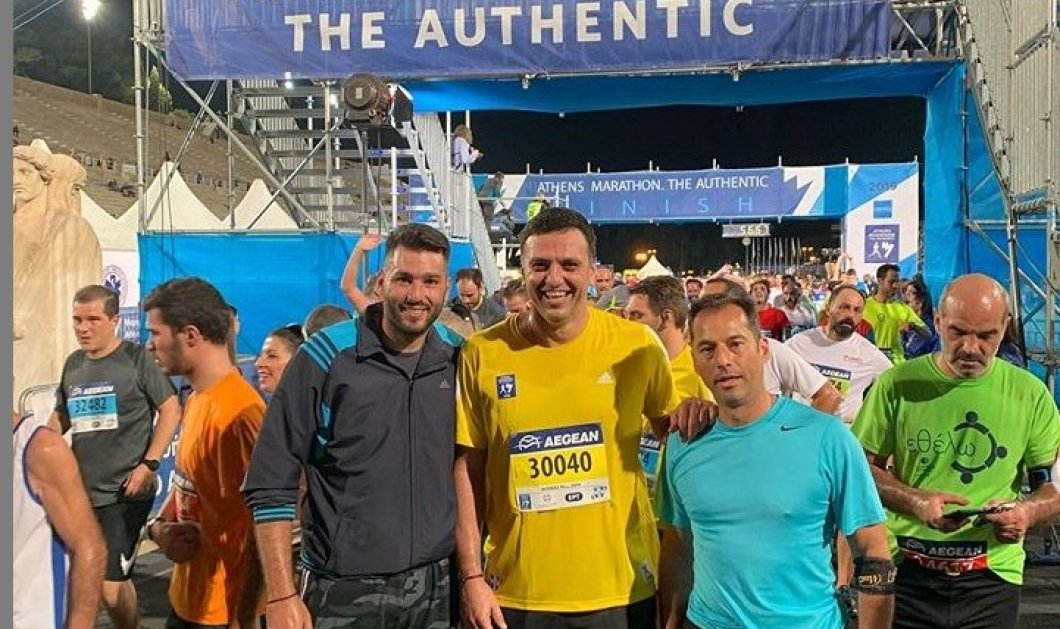 Ο Βασίλης Κικίλιας στον Μαραθώνιο: Έτρεξε με την ομάδα του στα 10km & έκανε πολύ καλό χρόνο (φώτο) - Κυρίως Φωτογραφία - Gallery - Video