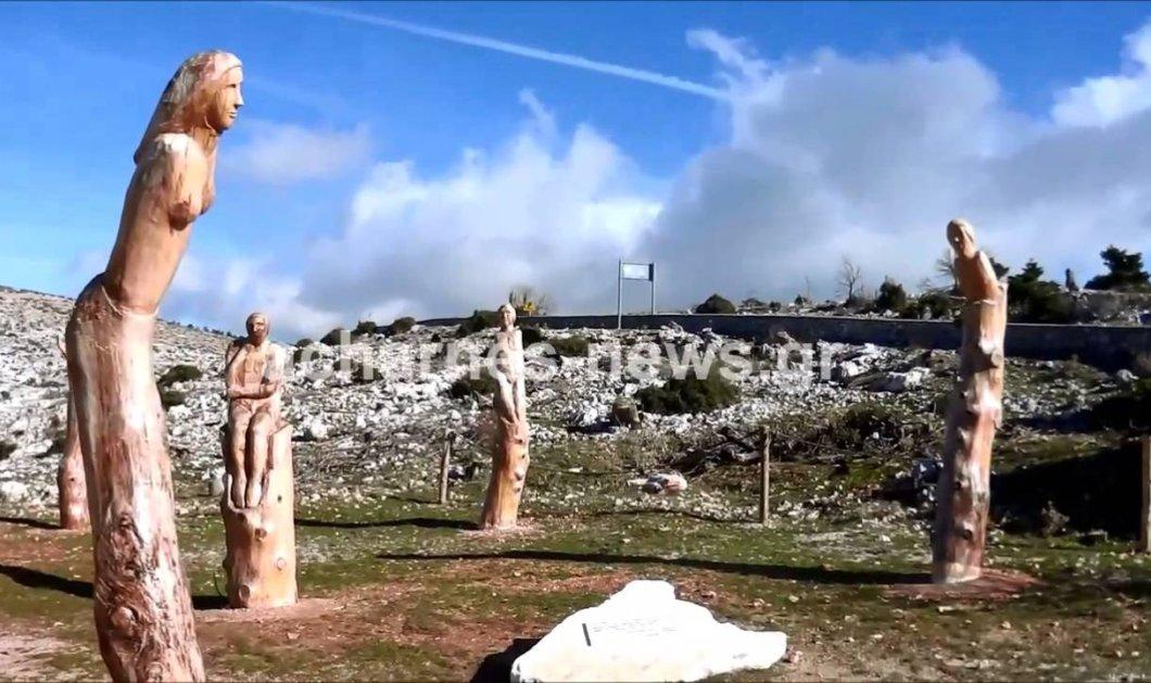 Πάρκο των ψυχών: Θρίλερ υπαίθριο μουσείο γλυπτών σε υψόμετρο 1000 μέτρων -40 λεπτά από την Αθήνα (βίντεο) - Κυρίως Φωτογραφία - Gallery - Video