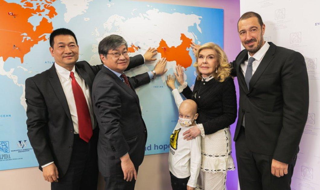 """Συμμαχία Ελλάδας- Κίνας κατά του παιδικού καρκίνου με πρωτοβουλία του ιδρύματος """"Ελπίδα- Μαριάννα Βαρδινογιάννη"""" - Κυρίως Φωτογραφία - Gallery - Video"""