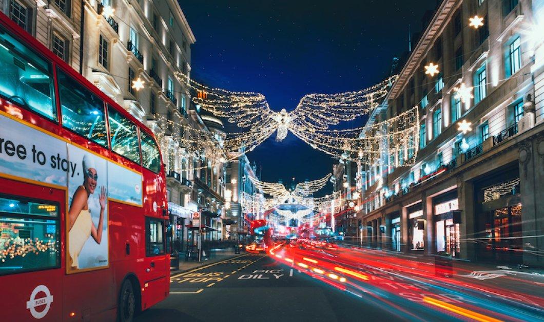 Και το Λονδίνο ντύθηκεγιορτινά - Βιτρίνες& δρόμοιλαμποκοπούνστην πιο εντυπωσιακήπρωτεύουσατου κόσμου- Φώτο & βίντεο  - Κυρίως Φωτογραφία - Gallery - Video