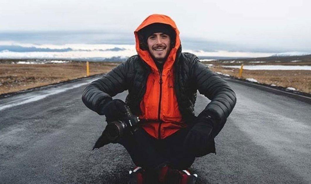 Βίντεο: O ΣτέφανοςΤσιτσιπάς on camera βουτάειτρέμονταςστα παγωμένα νερά της Ισλανδίας - Κυρίως Φωτογραφία - Gallery - Video