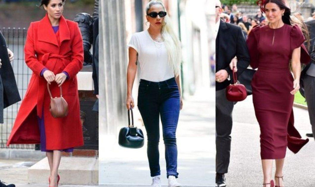 """Οι διάσημες τσάντες """"Nina"""" της σχεδιάστριας Γκαμπριέλα Χιρστ - Τις λατρεύουν η Lady Gaga, η Βασίλισσα Ράνια , η Μέγκαν Μαρκλ (φώτο) - Κυρίως Φωτογραφία - Gallery - Video"""