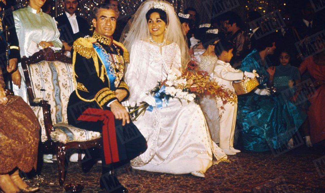 Vintage Pics: 60 χρόνια από το γάμο του αυτοκράτορα της Περσίας Μοχάμεντ Ρεζά Παχλαβί με την Φαράχ  Ντίμπα (φώτο)  - Κυρίως Φωτογραφία - Gallery - Video