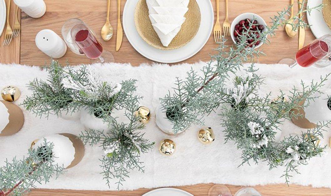 Χριστουγεννιάτικο τραπέζι: 25 απίθανες ιδέες διακόσμησης για να δημιουργήσετε το πιο γιορτινόart de la table! - Κυρίως Φωτογραφία - Gallery - Video
