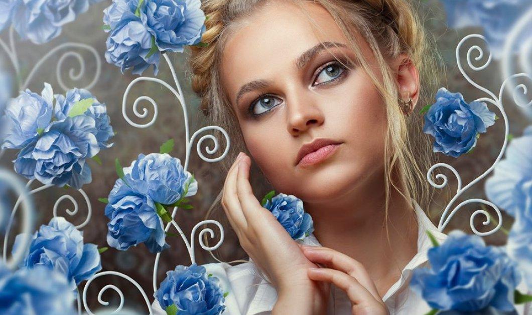 Φαντασμαγορικά πορτραίτα με γυναίκες να ξεπροβάλλουν μέσα από υπέροχα λουλούδια - Παραμυθένιες εικόνες! - Κυρίως Φωτογραφία - Gallery - Video