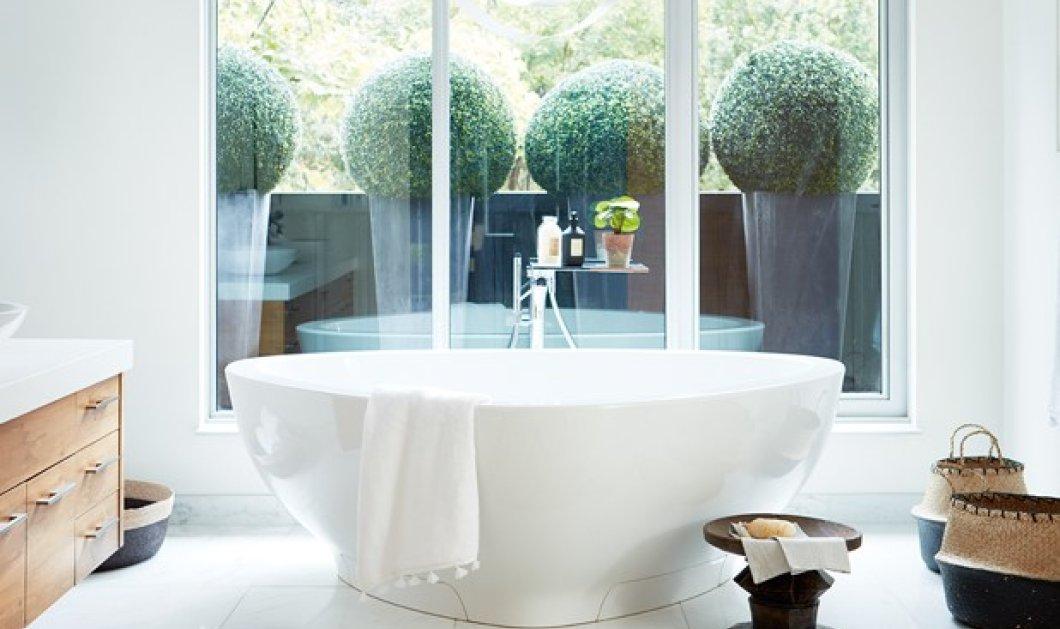 10 εντυπωσιακά μπάνια που θα γίνουν τάση το 2020: Τόσο υπέροχα που δεν θα θέλετε να βγείτε από μέσα - Φώτο - Κυρίως Φωτογραφία - Gallery - Video