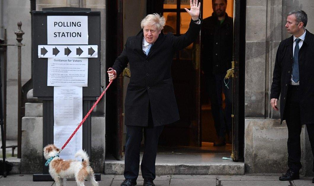 Εκλογές σήμερα στην Βρετανία: Σοσιαλισμός ή Brexit; Ο Μπόρις Τζόνσον κρατάει σφιχτά τον σκύλο του και πάει στις κάλπες  - Κυρίως Φωτογραφία - Gallery - Video