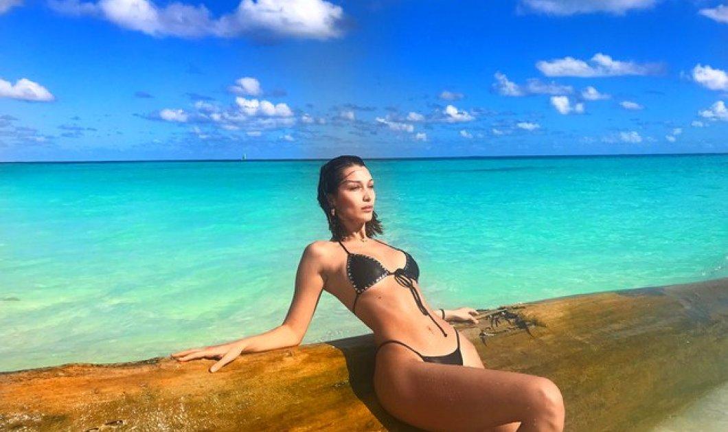 ΗBella Hadid σε... καλοκαιρινές διακοπές στο St. Bart's - Το top της δεν άφησε τίποτα στην φαντασία - Φώτο - Κυρίως Φωτογραφία - Gallery - Video