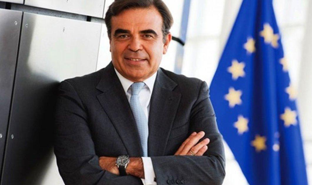 """Μαργαρίτης Σχοινάς, Αντιπρόεδρος Ευρωπ. Επιτροπής: """"Θα δουλέψωμε επίκεντροτονάνθρωπο"""" - Κυρίως Φωτογραφία - Gallery - Video"""