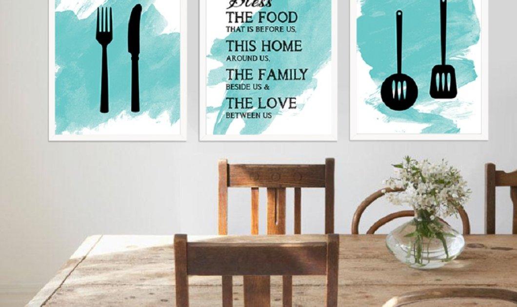 Ο Σπύρος Σούλης δείχνει 10 φανταστικούς τρόπους για να ανανεώσουμε την κουζίνα μας χωρίς να την ανακαινίσουμε - Κυρίως Φωτογραφία - Gallery - Video