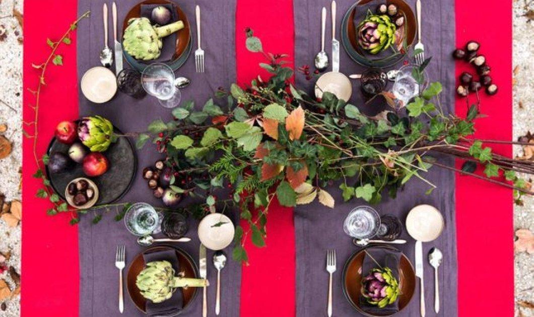 Χριστούγεννα 2019: 35 υπέροχες ιδέες για να διακοσμήσετε το τραπέζι σας με τον πιο γιορτινό τρόπο! Φώτο - Κυρίως Φωτογραφία - Gallery - Video