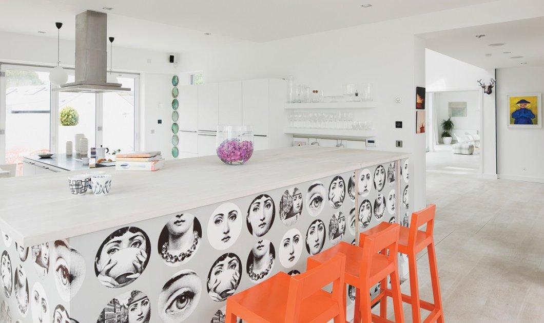 Ο Σπύρος Σούλης μας συμβουλεύει να βάλουμε ταπετσαρίες στο σπίτι μας: Απίθανες ιδέες για το πως να τις τοποθετήσουμε! Φώτο  - Κυρίως Φωτογραφία - Gallery - Video