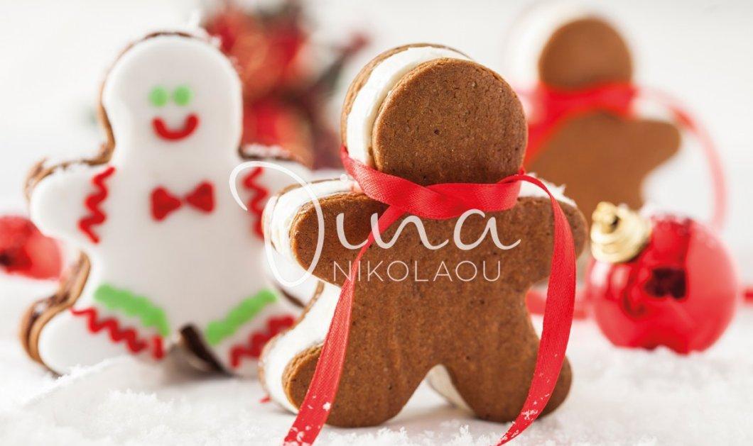 Ντίνα Νικολάου: Βήμα - βήμα η διαδικασία για να φτιάξετε εκπληκτικά Gingerbread cookies - Δεν θα αντισταθεί κανείς!   - Κυρίως Φωτογραφία - Gallery - Video
