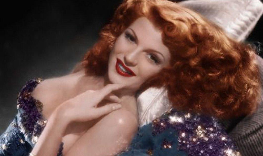 Είναι η στιγμή της ημέρας να δείτε το Vintage βίντεο με τηνRita Hayworth - βασίλισσα του Χόλιγουντ να χορεύει! - Κυρίως Φωτογραφία - Gallery - Video