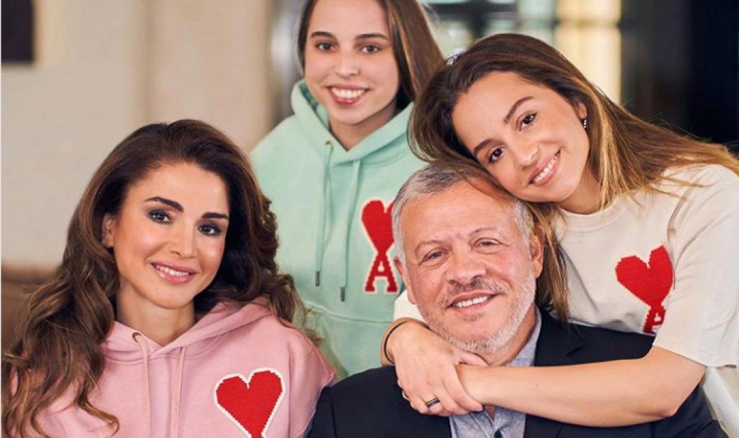 Ο βασιλιάς της Ιορδανίας & οι γυναίκες της ζωής του: Η Βασίλισσα του Ράνια & οι κόρες του αποχαιρετούν το 2019 - Κυρίως Φωτογραφία - Gallery - Video