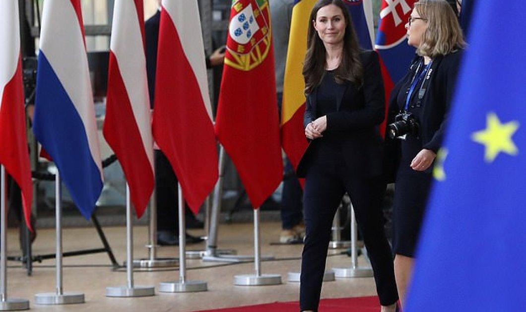 Σύνοδος Κορυφής: Όλα τα μάτια στραμμένα στην 34χρονη πρωθυπουργό της Φιλανδίας (φώτο) - Κυρίως Φωτογραφία - Gallery - Video