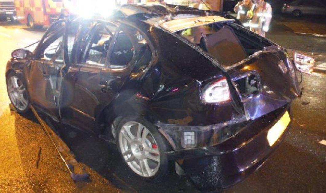 Απίστευτο! Το αυτοκίνητο ανατινάχθηκε γιατί ο οδηγός άναψε τσιγάρο ενώ είχε μόλις ρίξει πάρα πολύ αποσμητικό χώρου  - Κυρίως Φωτογραφία - Gallery - Video