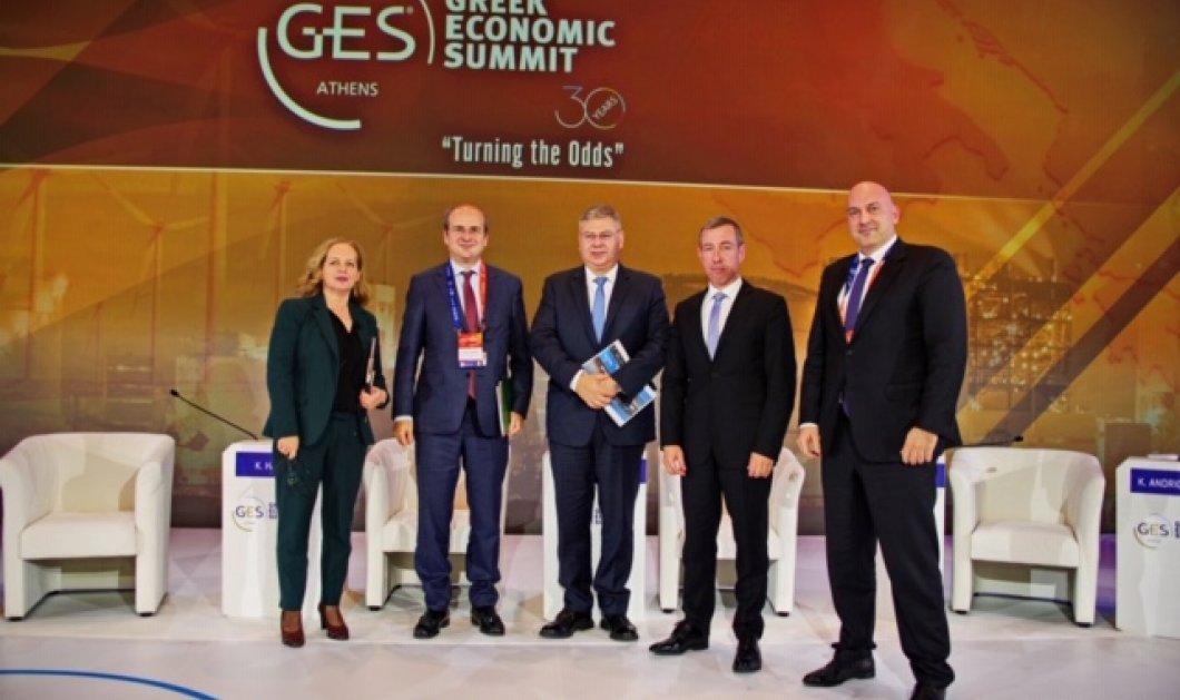 """Ανδρέας Σιάμισιης - Ceo ΕΛΠΕ: """"Απαιτεί ρεαλισμό & συγκεκριμένη στρατηγική η μετάβαση της διεθνούς & εγχώριας αγοράς στο νέο ενεργειακό μοντέλο"""" - Κυρίως Φωτογραφία - Gallery - Video"""