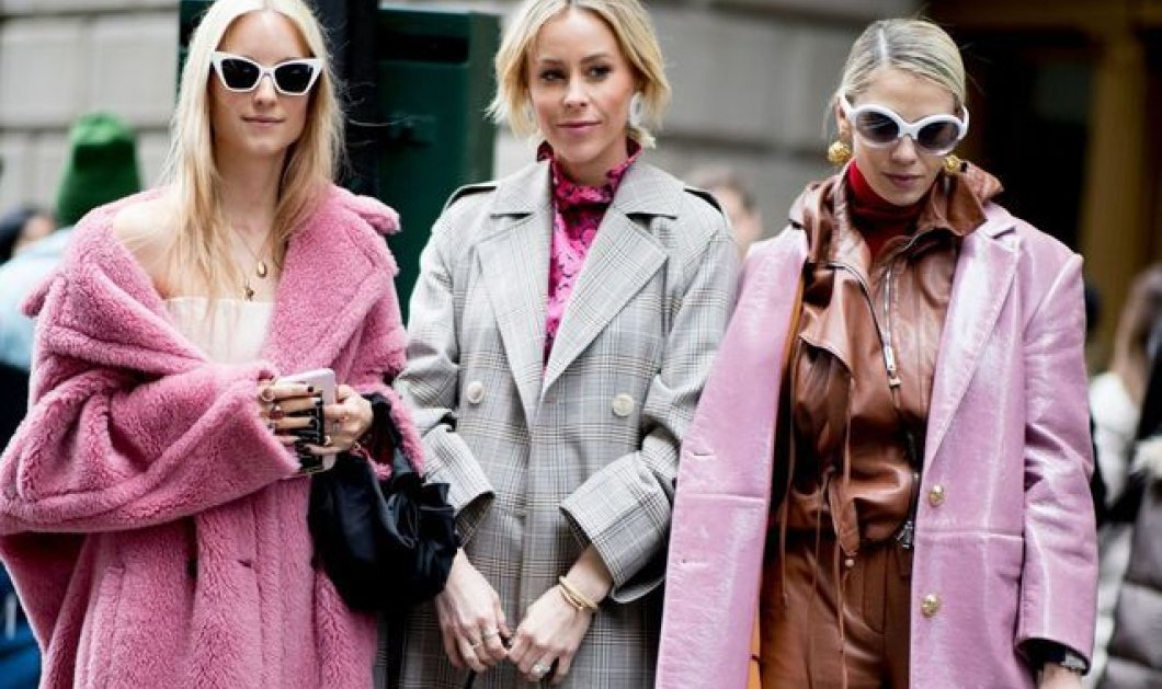 Oι Γαλλίδες φέτοςτον χειμώνα θα βάλουναυτάτα παλτό: Ροζ, μπεζ με στυλ, teddy bear ή δερματίνη - Φώτο - Κυρίως Φωτογραφία - Gallery - Video