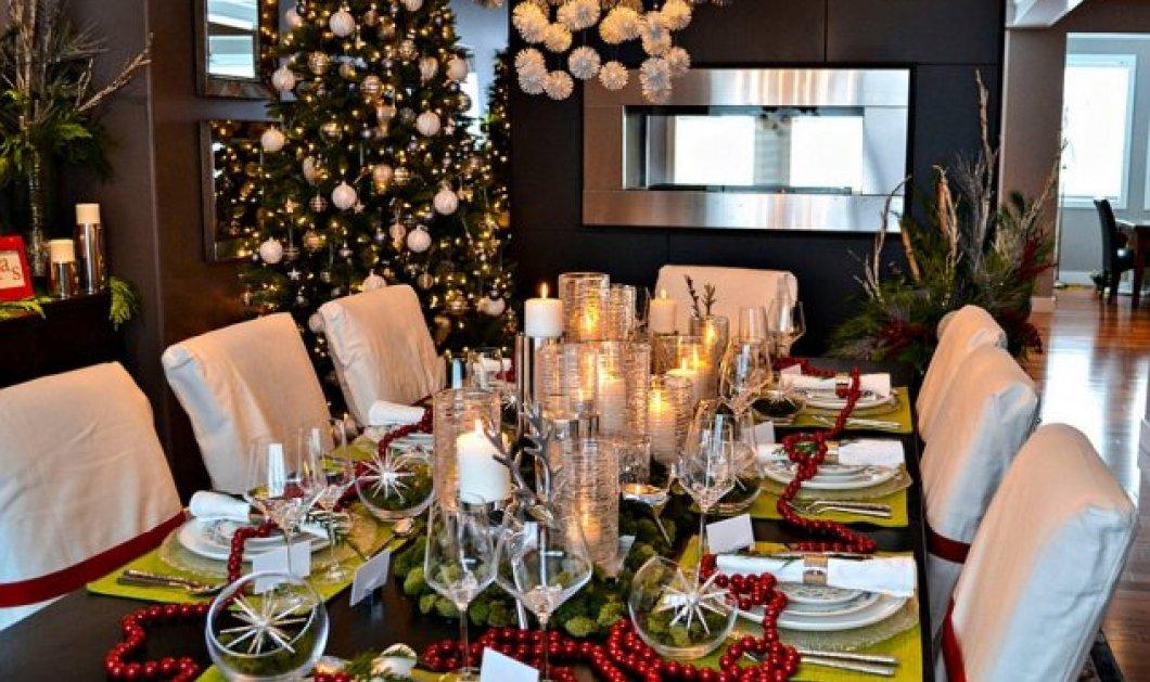 Αυτά είναι τα καλύτερα Χριστουγεννιάτικα τραπέζια – Πάρτε ιδέες για το πως θα στολίσετε το δικό σας - Κυρίως Φωτογραφία - Gallery - Video