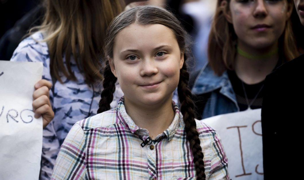 """Γκρέτα Τούνμπεργκ: Η 16χρονη ακτιβίστρια """"Πρόσωπο της χρονιάς 2019"""" για το περιοδικό """"Time"""" (φώτο) - Κυρίως Φωτογραφία - Gallery - Video"""