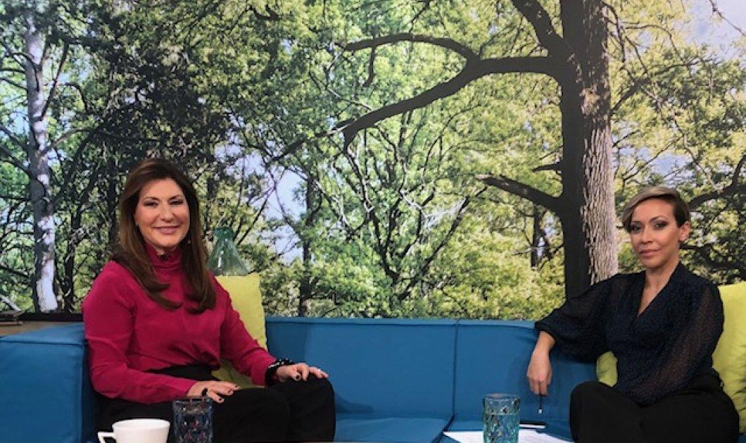 Τα είπα όλα στην «Ανδριανή» & στο Κρήτη TV - Καθίσαμε στον καναπέ της & ξετύλιξα 30 ετών δημοσιογραφική ιστορία (βίντεο) - Κυρίως Φωτογραφία - Gallery - Video