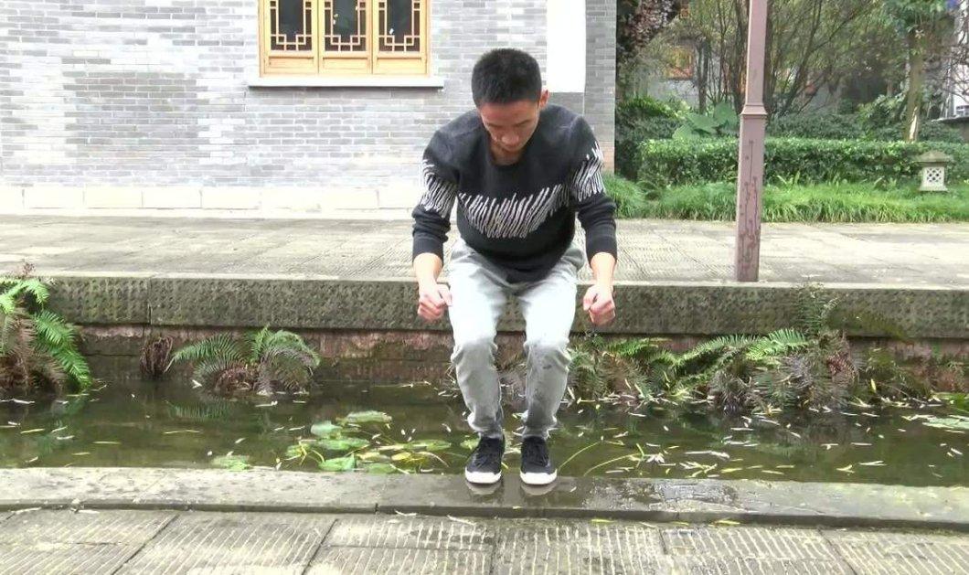 Viral βίντεο με δάσκαλο κουνγκ φου: Περπατάει & πηδάει πάνω στο νερό - Θα μείνετε άφωνοι! - Κυρίως Φωτογραφία - Gallery - Video