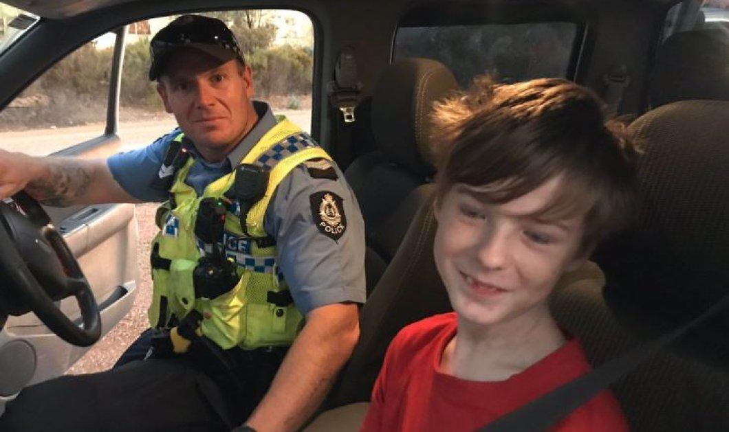 Αυστραλία: Ένα 12χρονο αγόρι οδήγησε μόνο του το αγροτικό για να σωθεί από την πυρκαγιά - Πήρε μαζί του & το σκύλο του (φώτο-βίντεο) - Κυρίως Φωτογραφία - Gallery - Video