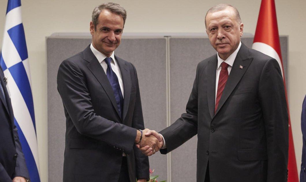 """Κυριάκος Μητσοτάκης για συνάντηση με Ερντογάν: """"Θα μιλήσω με ανοιχτά χαρτιά για τις προκλήσεις"""" - Κυρίως Φωτογραφία - Gallery - Video"""