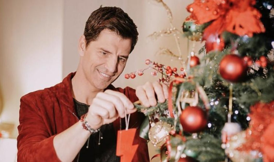 Ο Σάκης Ρουβάς εύχεται καλά Χριστούγεννα με τα παιδιά του - Λαμπρά αστέρια δίπλα του - Κυρίως Φωτογραφία - Gallery - Video