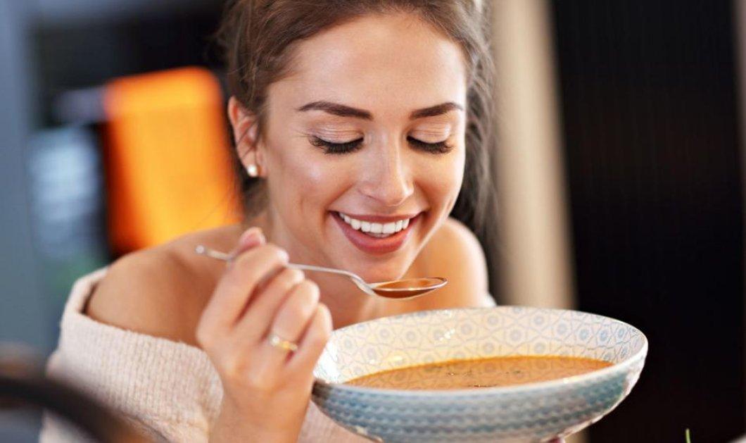 Τέλεια εποχή για σούπα: Το μυστικό για εύκολο αδυνάτισμα  - Κυρίως Φωτογραφία - Gallery - Video