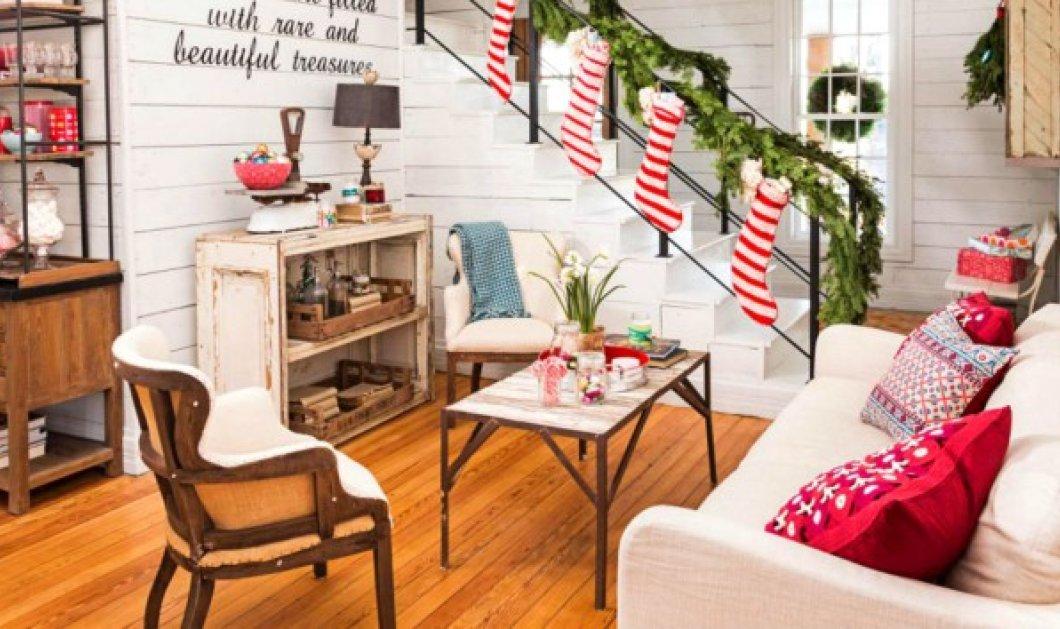 Έχετε μικρό σπίτι; Δεν πειράζει! Ο Σπύρος Σούλης παρουσιάζει 6 μοναδικές ιδέες για να φέρετε τα Χριστούγεννα στον χώρο σας!  - Κυρίως Φωτογραφία - Gallery - Video