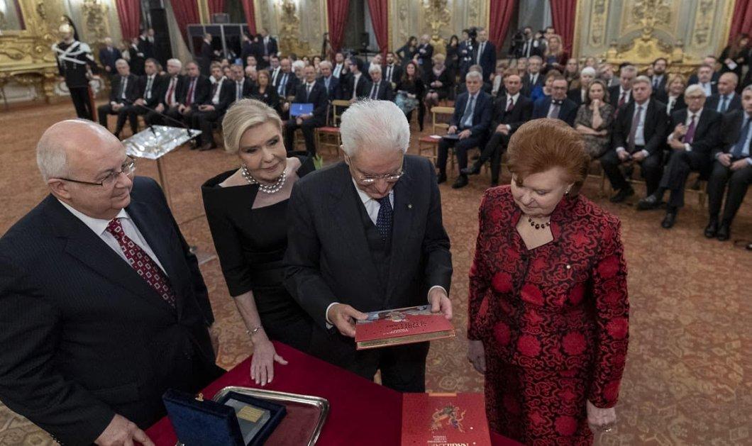 Η Μαριάννα Βαρδινογιάννη στη Ρώμη: Η ομιλία στην ιταλική γερουσία - Η συνάντηση με τον Πάπα Φραγκίσκο & τον Πρόεδρο της Ιταλίας  (φώτο)  - Κυρίως Φωτογραφία - Gallery - Video