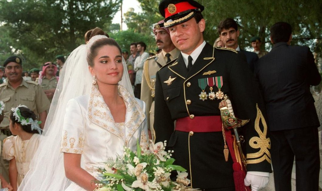 Vintage Pics: Σπάνιες φωτογραφίες από το γάμο της Ράνιας της Ιορδανίας με τον βασιλιά Αμπντάλα  - Κυρίως Φωτογραφία - Gallery - Video