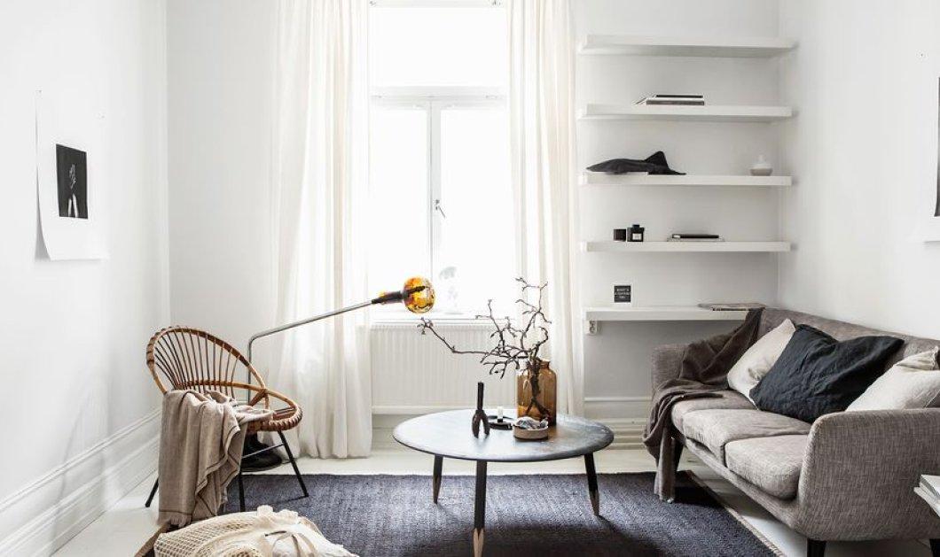 23 μινιμαλιστικές ιδέες για άνετο & κομψό καθιστικό: Θα θέλετε να μείνετε εκεί για πάντα - Φώτο - Κυρίως Φωτογραφία - Gallery - Video