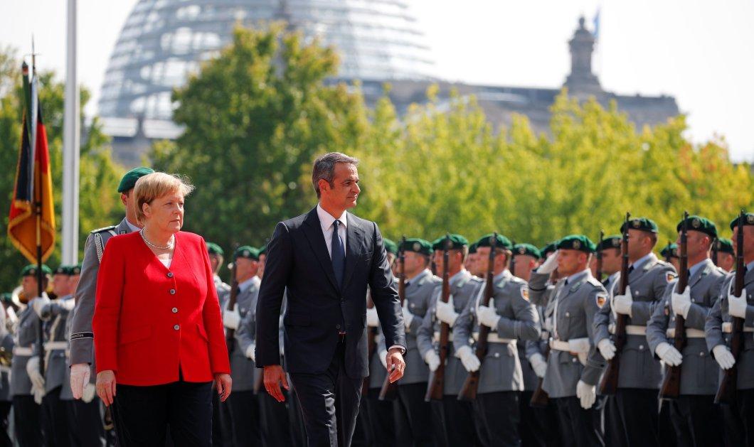 """Μέρκελ: """"Η Ελλάδα έχει σήμερα πρωθυπουργό που εφαρμόζει μεταρρυθμίσεις - Με έλεγαν """"κακιά γυναίκα"""" αλλά η πορεία με δικαίωσε"""" - Κυρίως Φωτογραφία - Gallery - Video"""