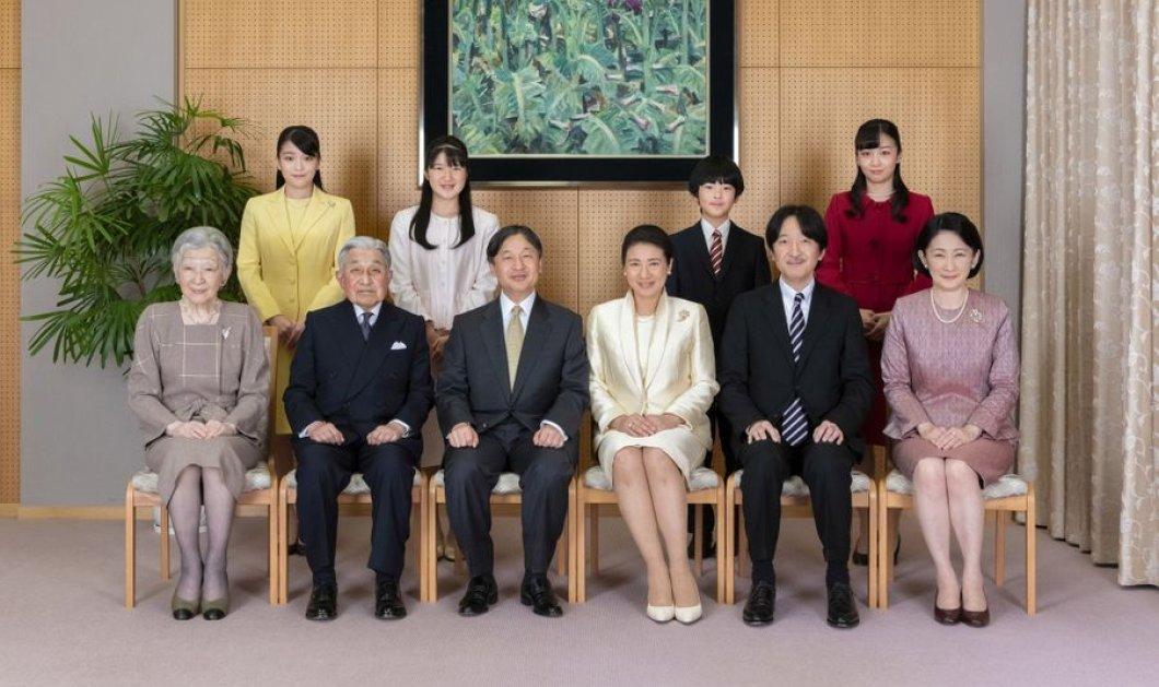Τα 3 νέα επίσημα πορτραίτα της αυτοκρατορικής οικογένειας της Ιαπωνίας - Χαμόγελα , παστέλ τόνοι & ιαπωνικά ζώδια (φώτο) - Κυρίως Φωτογραφία - Gallery - Video