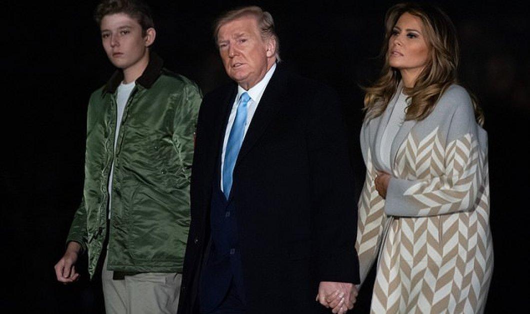 Μελάνια Τραμπ: Ντυμένη για να πάει σε πάρτι... μόδας με τις φίλες της πλάι στον πανύψηλο γιό της - Χεράκι με τον Ντόναλντ - Φώτο - Κυρίως Φωτογραφία - Gallery - Video