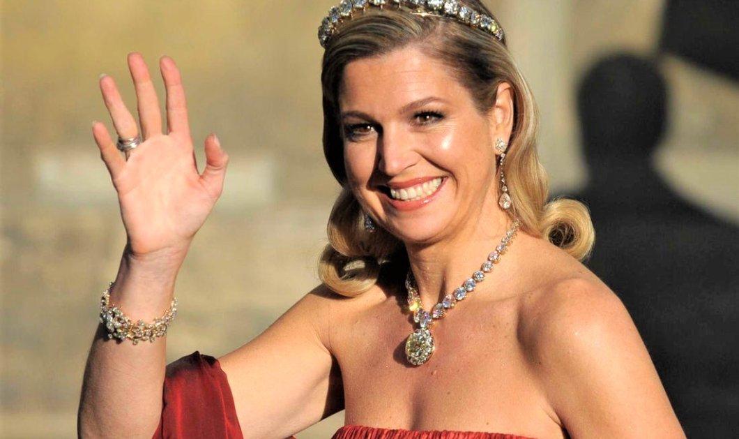 Βασίλισσα Μάξιμα της Ολλανδίας: Απολογισμός όλων των εμφανίσεων της το 2019 - Χρώμα, κάπελα & σκουλαρίκια - Κυρίως Φωτογραφία - Gallery - Video